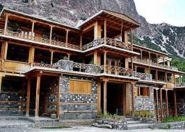 A traditional house in Kalash KPK Pakistan
