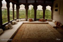 A view from Shigar Fort Gilgit Baltistan Pakistan