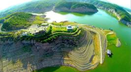 Amazing view of Mangla Cantt - Pakistan Credits Moin Khan - A different Agenda