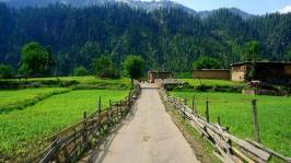 Beautiful Kel Village, Neelum Valley Pakistan