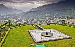 Beautiful view of Muzaffarabad Pakistan