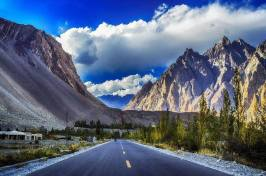 Passu Cones The Hunza Valley Pakistan