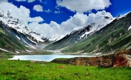 View of Lake Saiful Muluk Pakistan